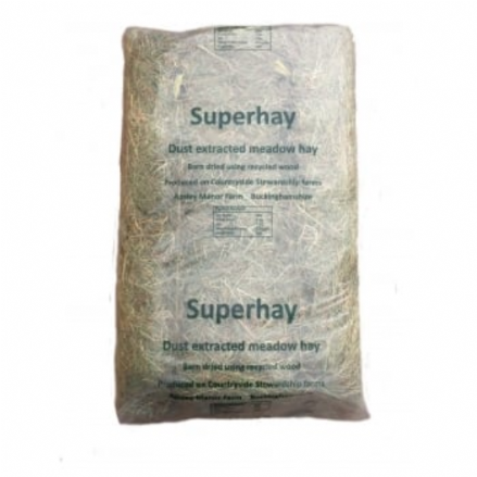 Dust Extracted Super-Hay (Bagged)